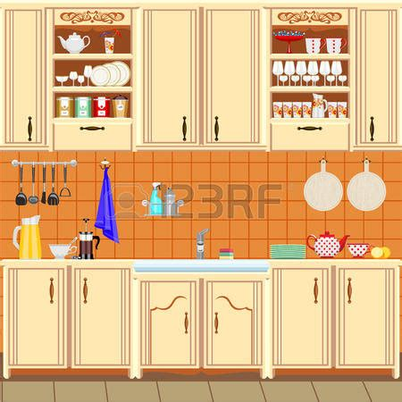 Kitchen cabinet clipart 4 » Clipart Station.
