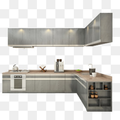 Kitchen Cabinets PNG Images.