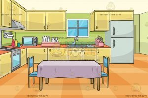 Kitchen cartoon clipart 4 » Clipart Portal.