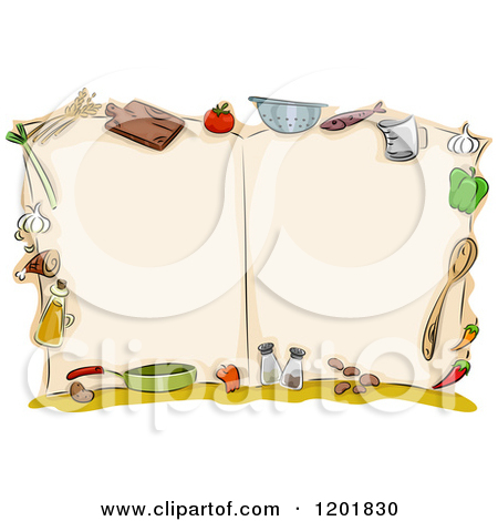 Free Cooking Clipart Borders.