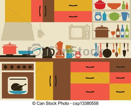 Clip Art Kitchen Art Clipart#2201006.