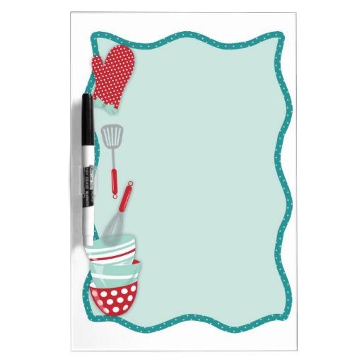 Kitchen Border Clipart.