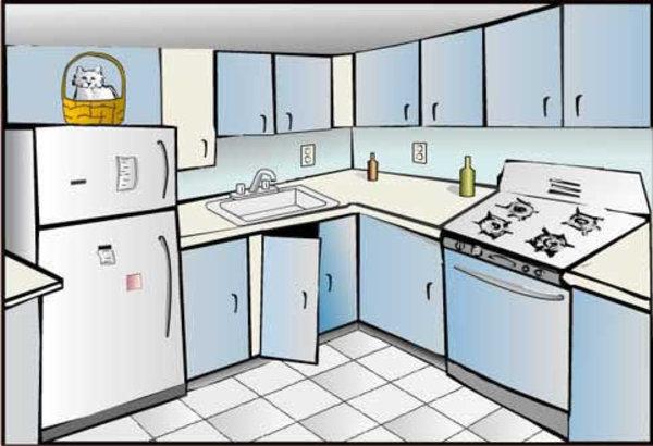 Kitchen clipart dothuytinh.