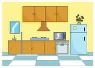 Free Kitchen Clipart.