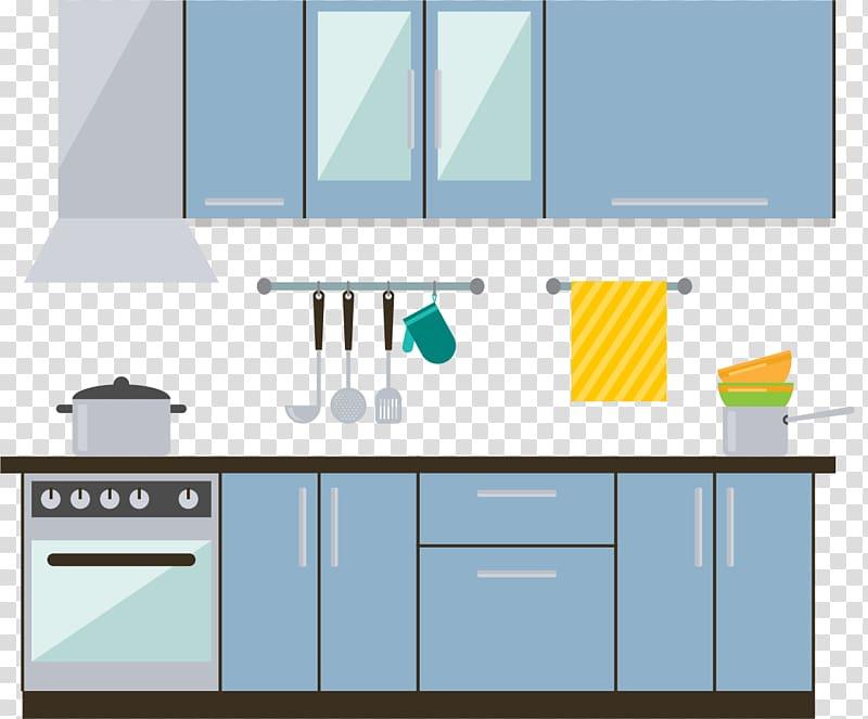 Kitchen Interior Design Services Furniture, Modern central.