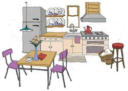 Kitchen clipart 10 » Clipart Station.