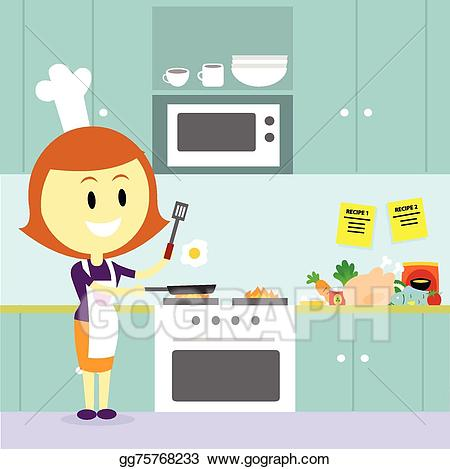 Kitchen Cooking Clipart.