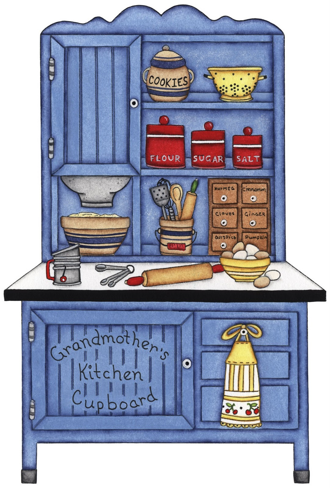 Pin by Crafty Annabelle on Kitchen Printables Clipart.