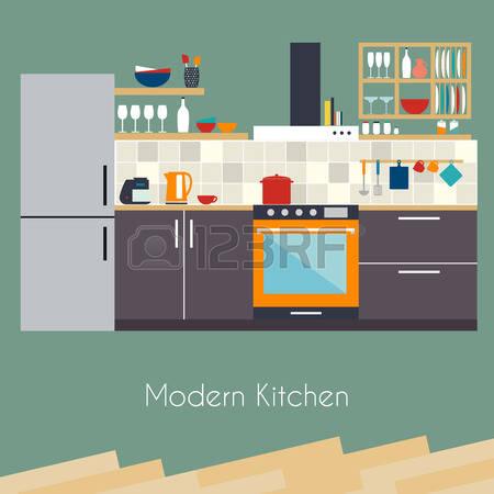 Kitchen Design Clipart Clipground