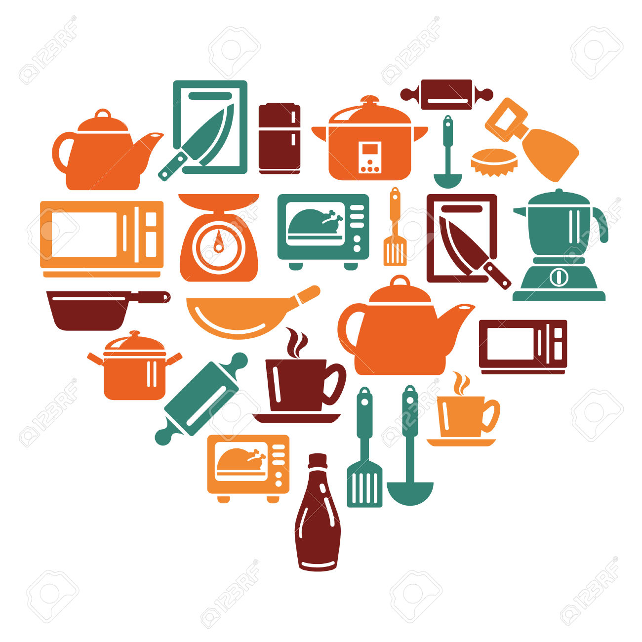Kitchen Appliances Clip Art ~ Kitchen equipment clipart clipground