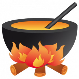 Kitchen Fire Clipart Png Images.