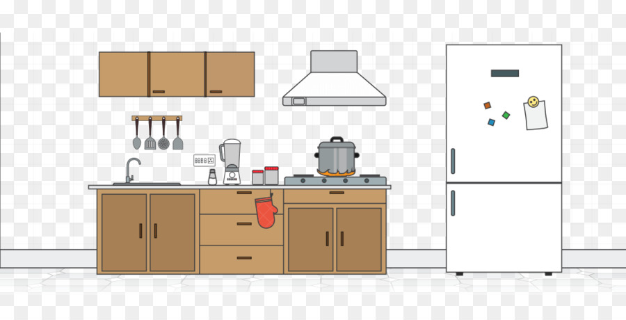 Kitchen Cartoon clipart.