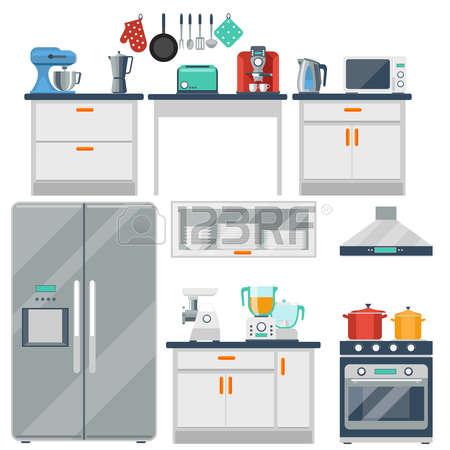 9086 Kitchen free clipart.