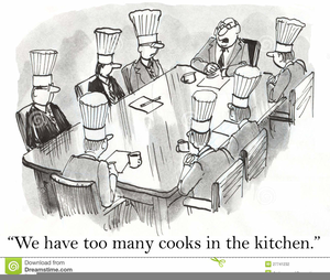 Kitchen Illustrations Clipart.