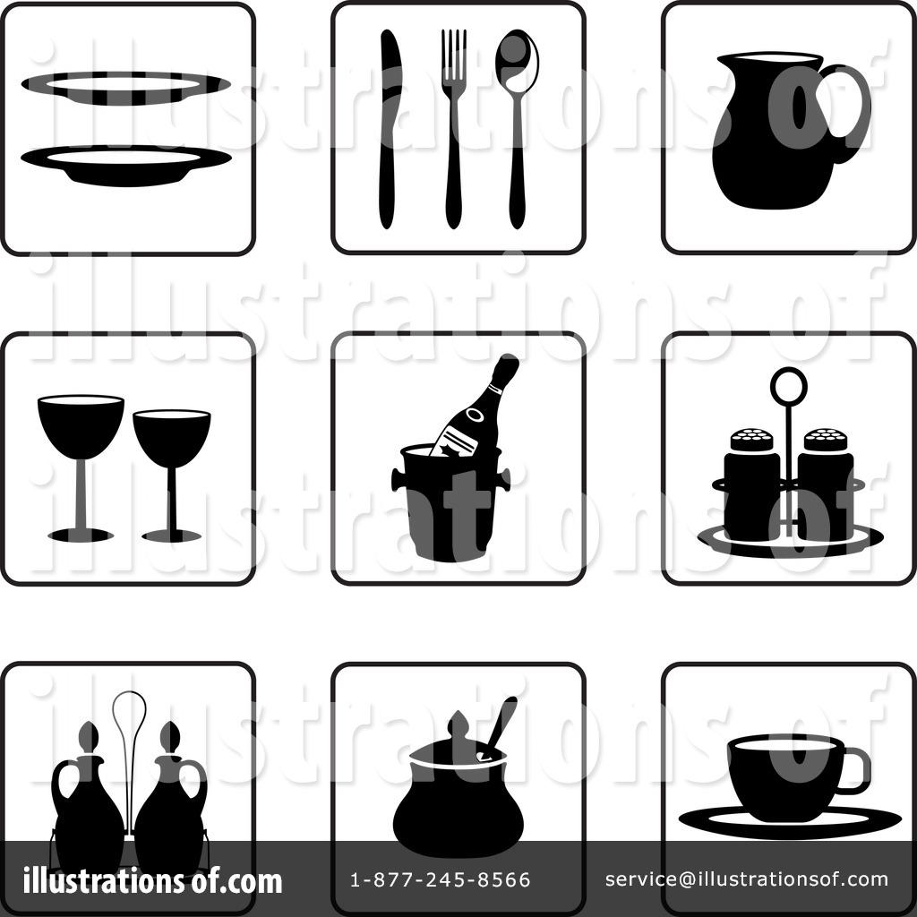 Kitchen Items Clipart #59068.