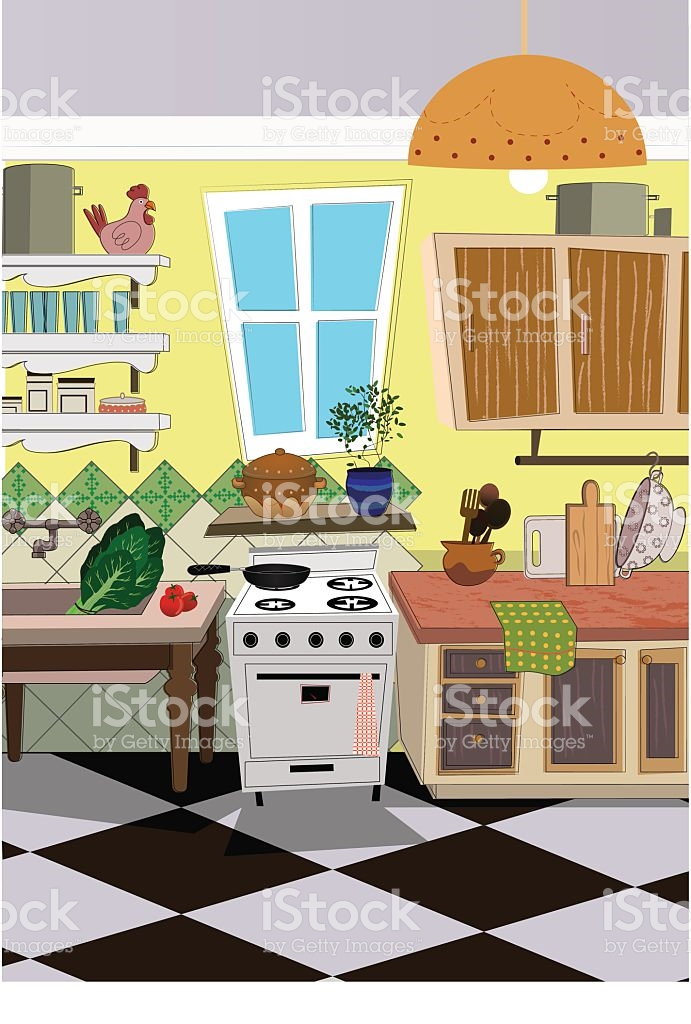 Kitchen Mess Clip Art, Vector Images & Illustrations.