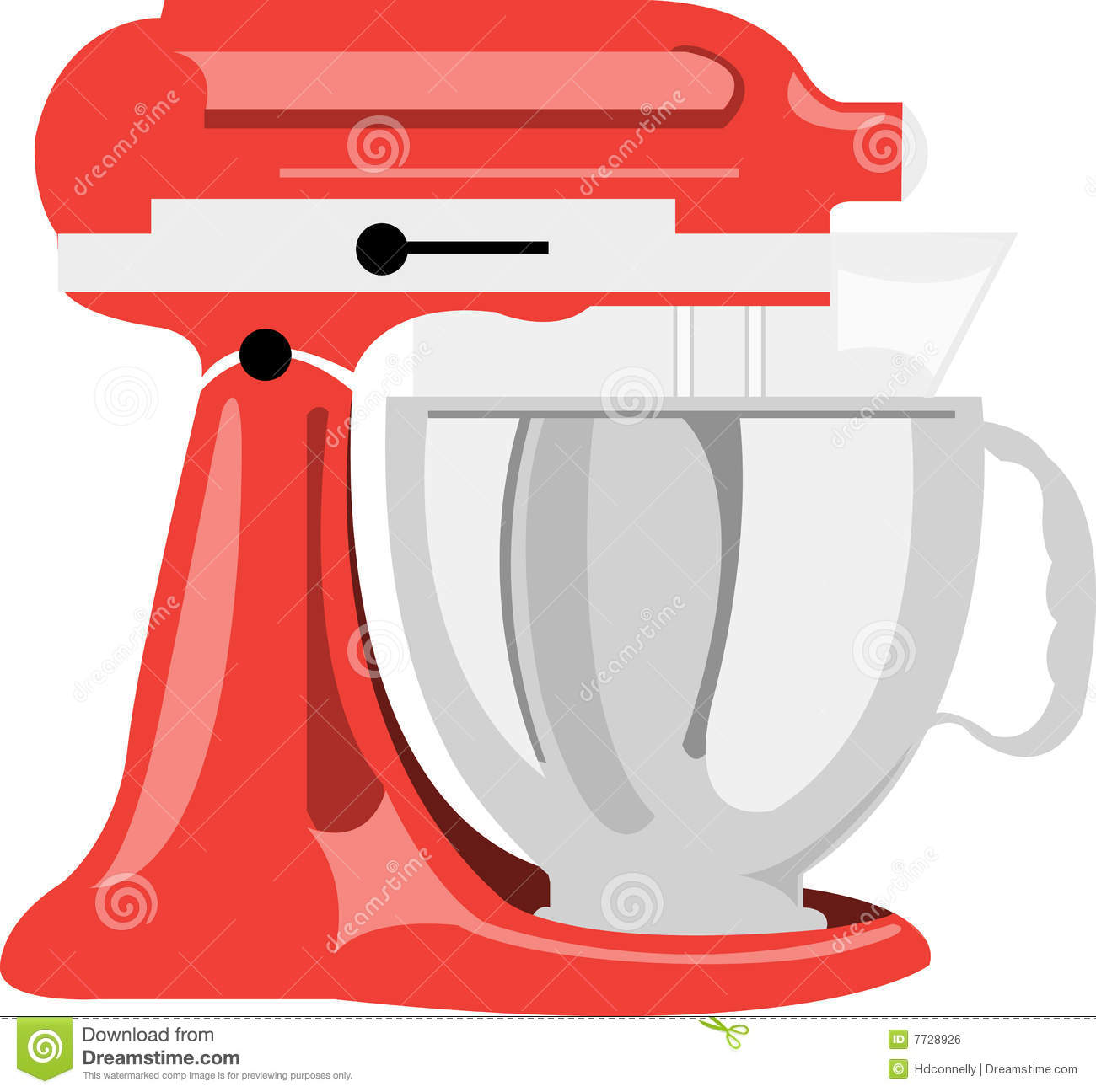 Cartoon Kitchen Mixer ~ Kitchen mixers clipart clipground