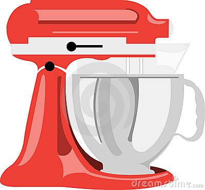 Electric Stand Mixer Clipart.
