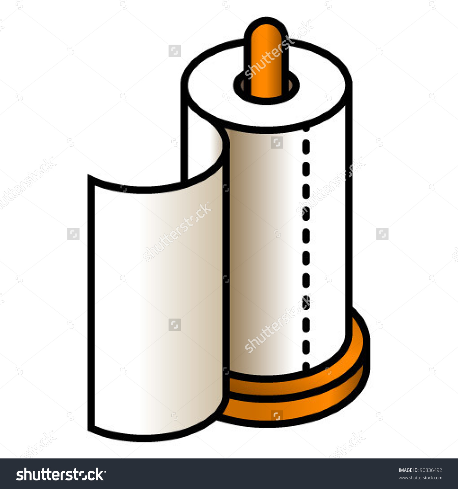Kitchen Paper Clipart