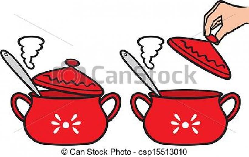 Red Cooking Pot Clipart Red Cooking Pot Clipart vector clip art of.