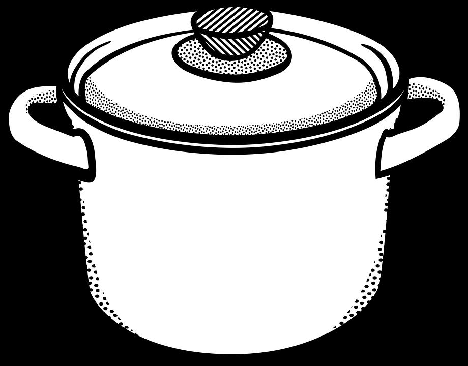 Pot Kitchen Clip Art.