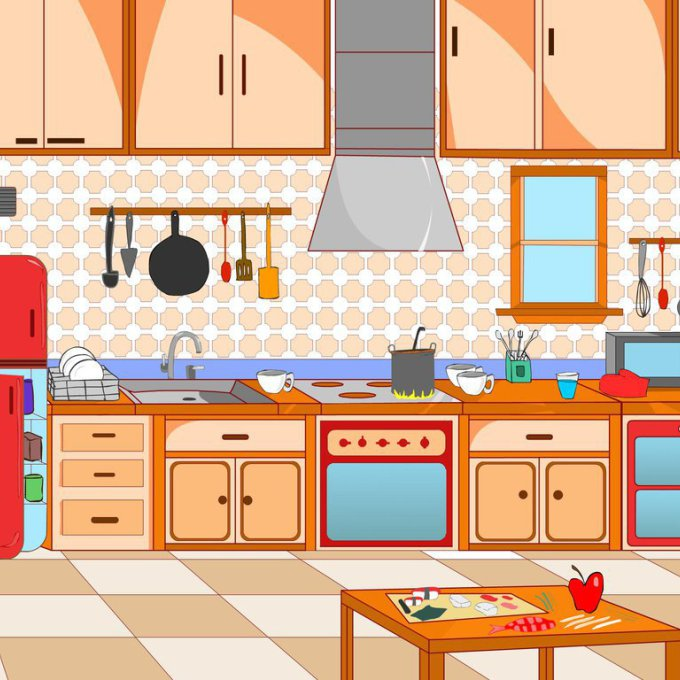 Clipart kitchen, Clipart kitchen Transparent FREE for.