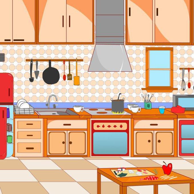 Clipart kitchen, Clipart kitchen Transparent FREE for.