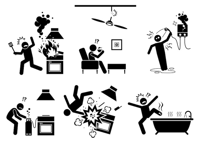 Kitchen Safety Pictures Free Download Clip Art.