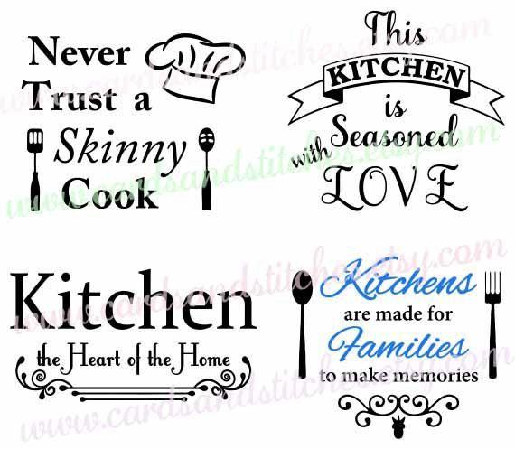 Kitchen SVG.
