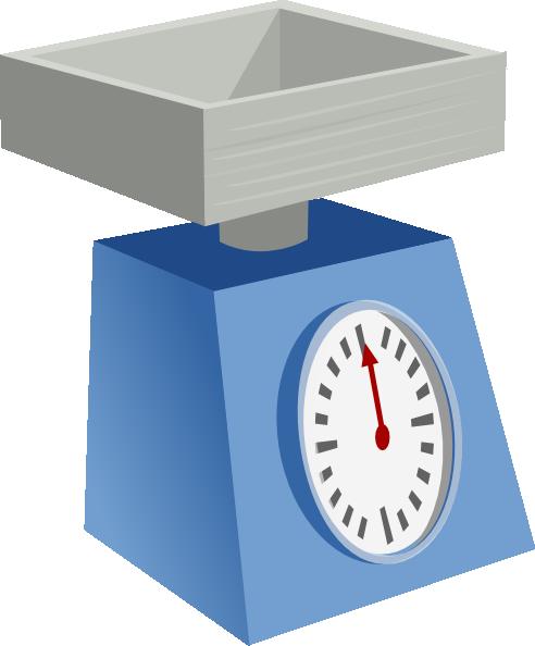 Kitchen Scales clip art Free Vector / 4Vector.