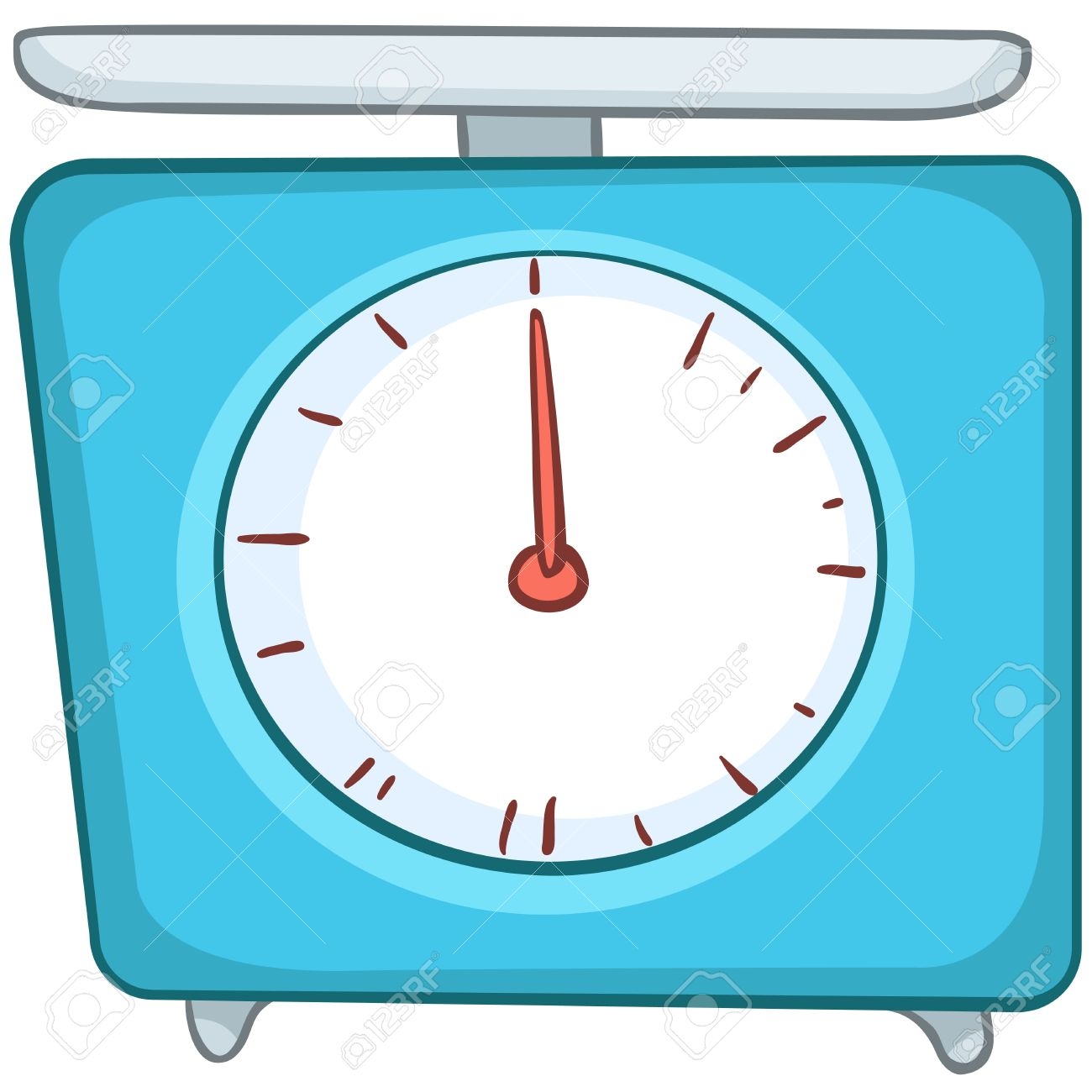 Cartoon Home Kitchen Scales Royalty Free Cliparts, Vectors, And.