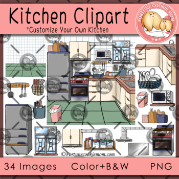 Kitchen Clipart.
