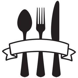 Silhouette Design Store: kitchen utensils banner.