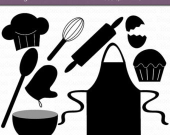 Baking Clipart Silhouette.