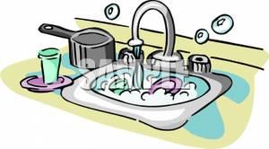 Kitchen Sink Clip Art.