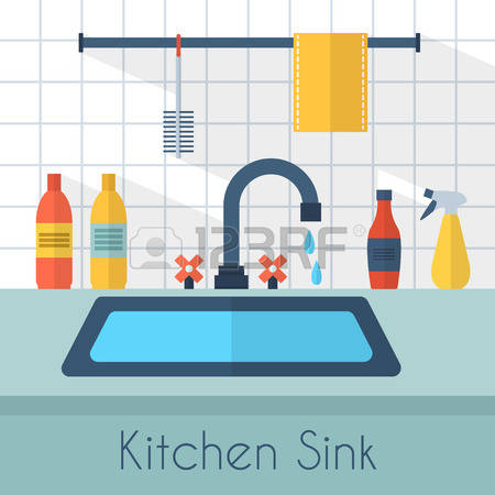 3,026 Kitchen Sink Stock Illustrations, Cliparts And Royalty Free.