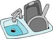 Clipart of Kitchen Sink k5266105.