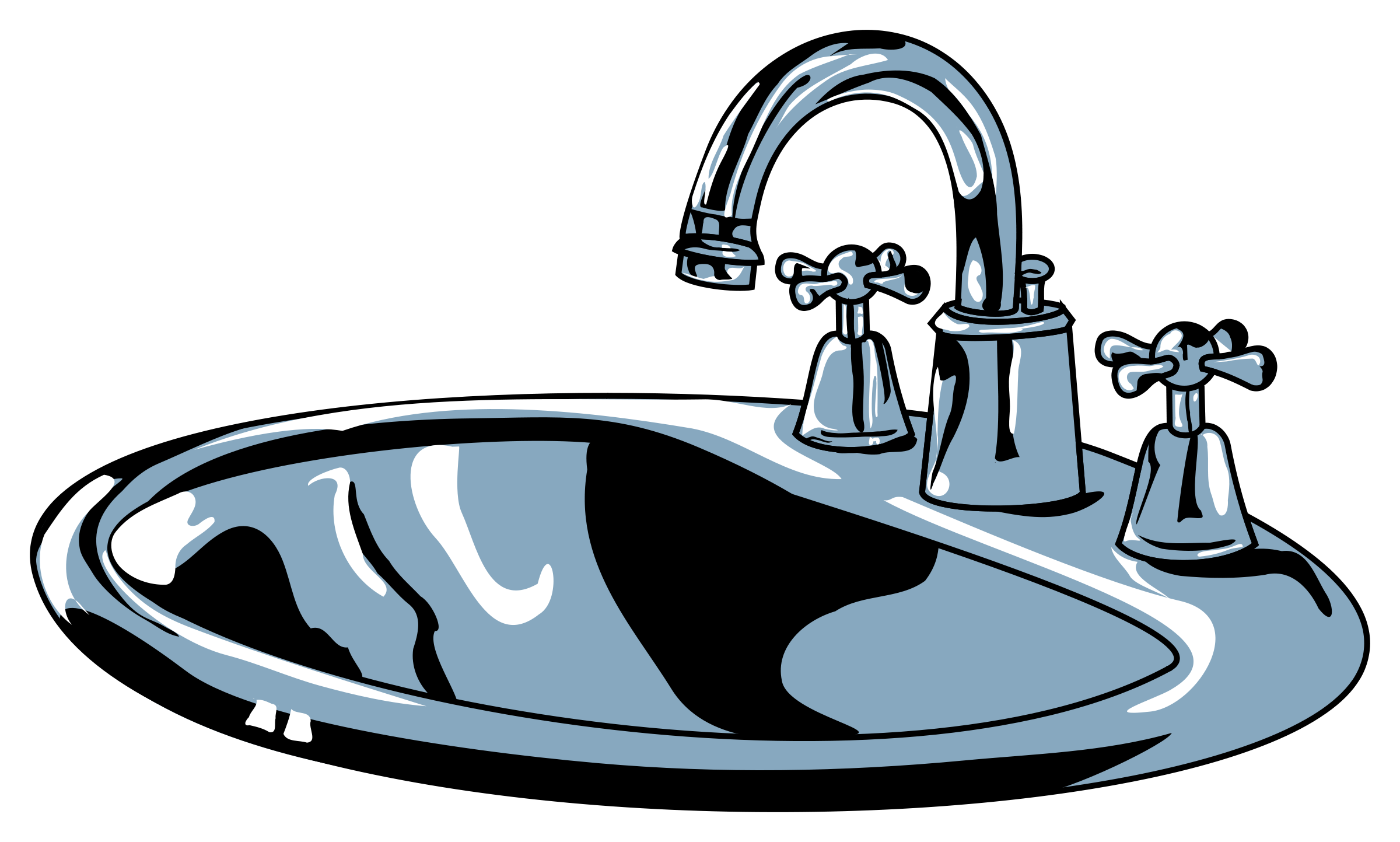 Kitchen sink clipart free images 2.