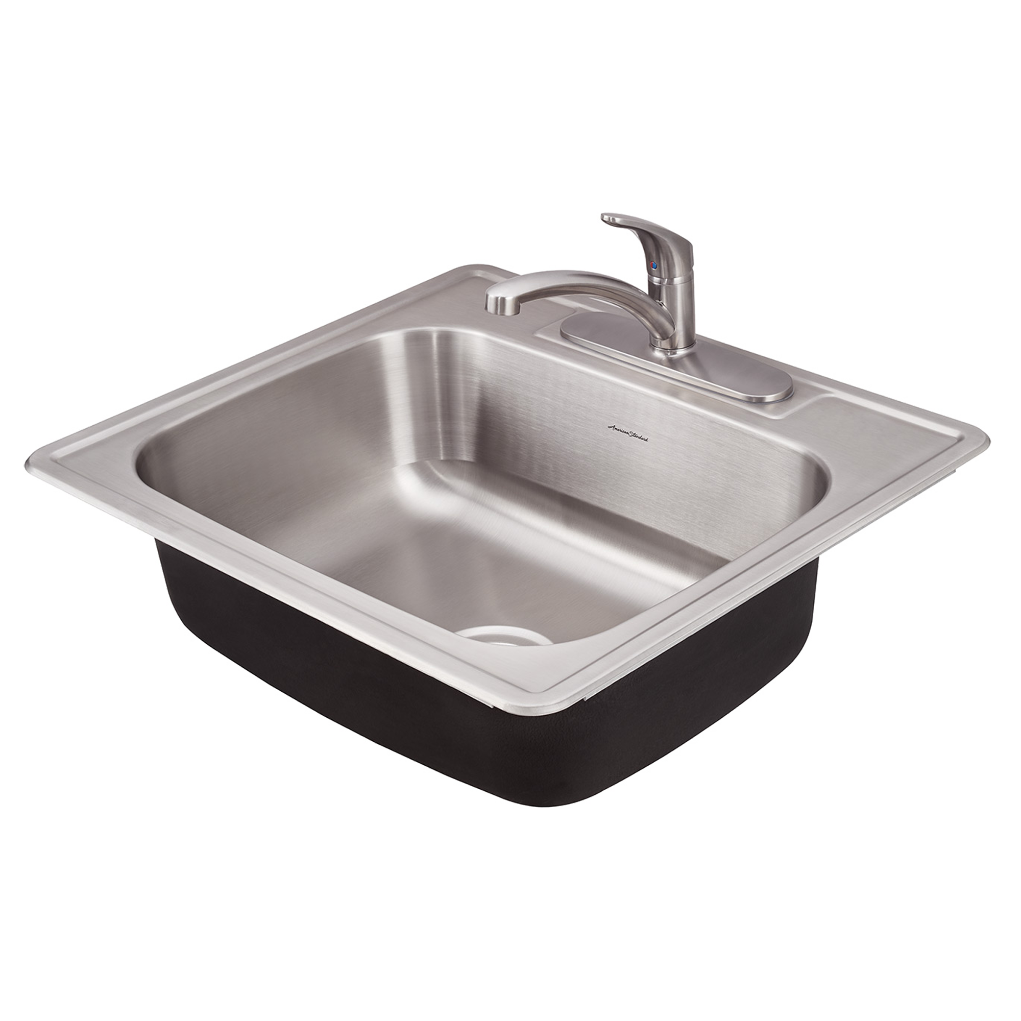 Colony ADA 25x22 Single Bowl Kitchen Sink Kit.
