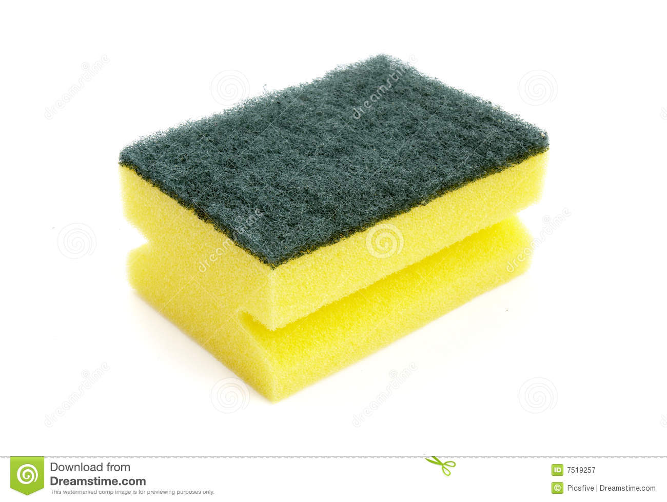 Kitchen Sponge Clipart.