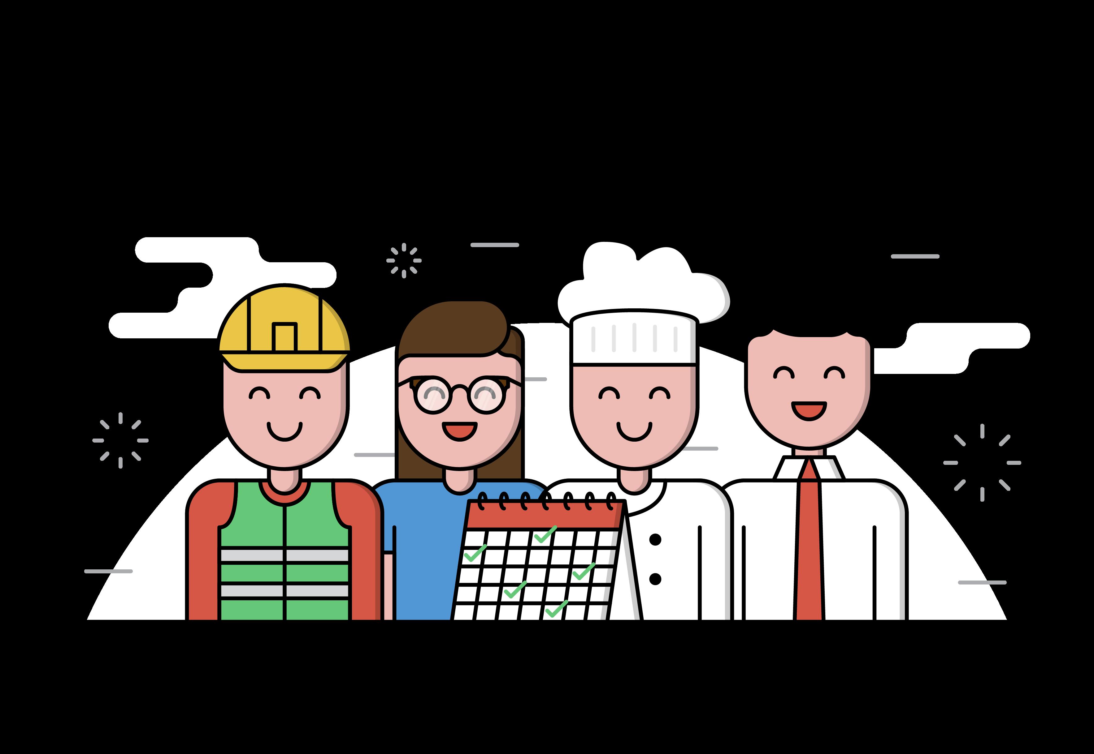 Clipart kitchen kitchen staff, Clipart kitchen kitchen staff.