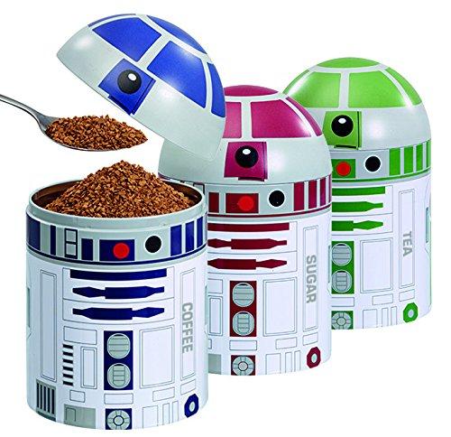 Amazon.com: Underground Toys Star Wars Home Kitchen Storage Set.