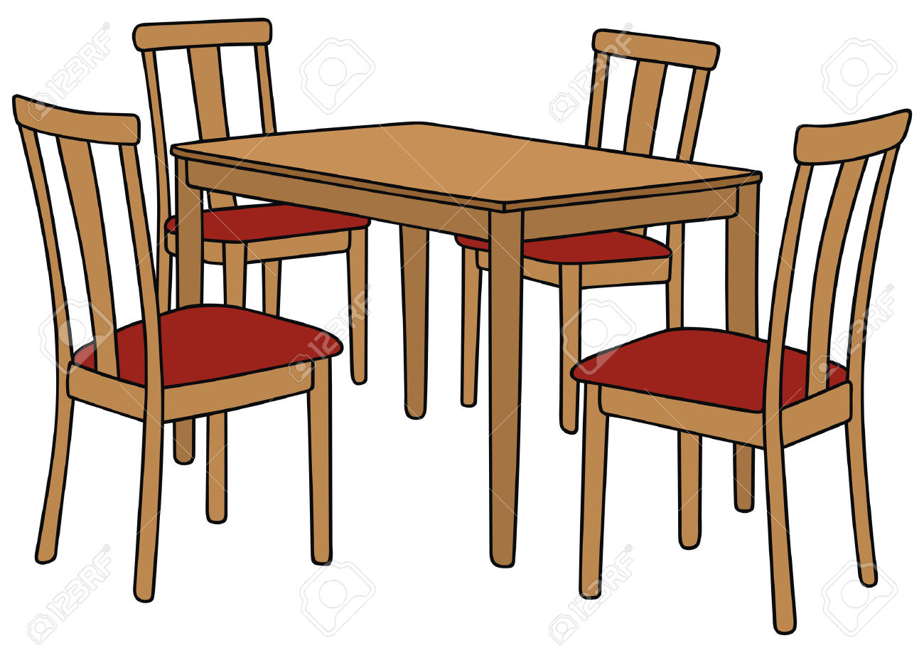 Kitchen Table Clipart Clipground