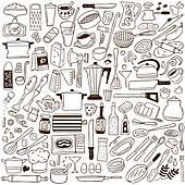 Clipart of Kitchen Tool Utensil Equipment k7721393.