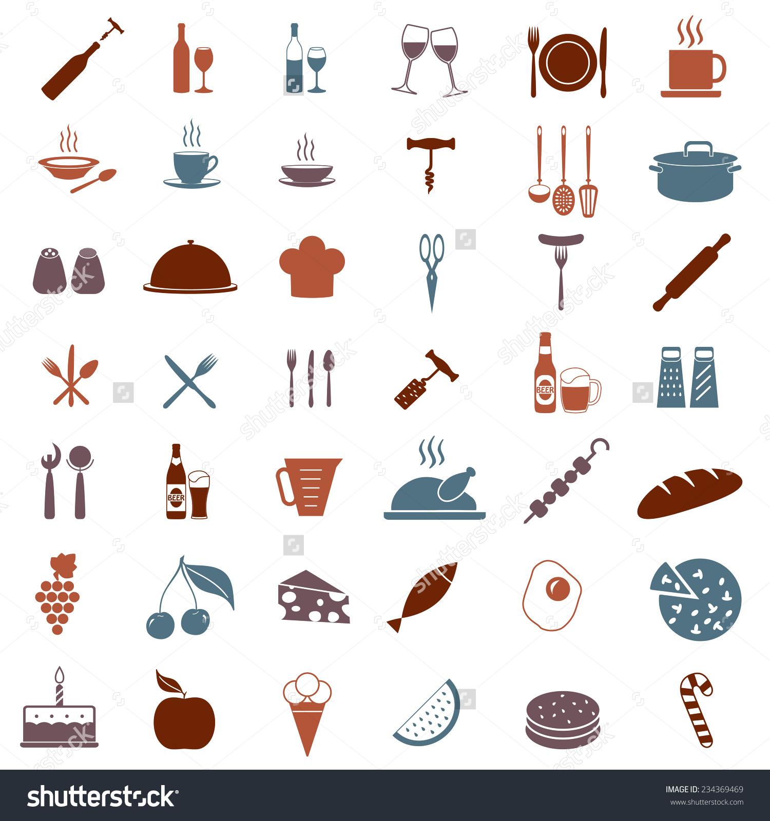 Restaurant Kitchen Utensils: Kitchen Tools And Equipment Clipart