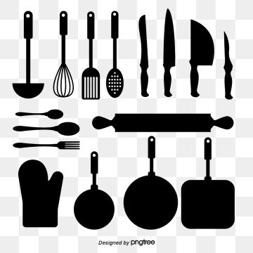 Kitchen Utensils PNG Images.