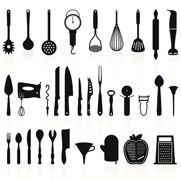 Best Kitchen Utensil Illustrations, Royalty.