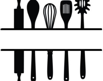 Kitchen utensils clipart » Clipart Station.