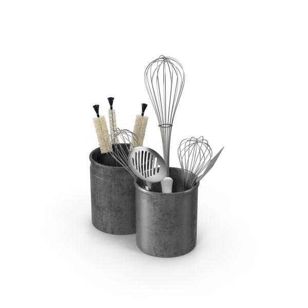 Kitchen Utensils in Holders PNG Images & PSDs for Download.