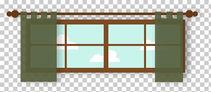 Kitchen cabinet Kitchen utensil , Cartoon window PNG clipart.
